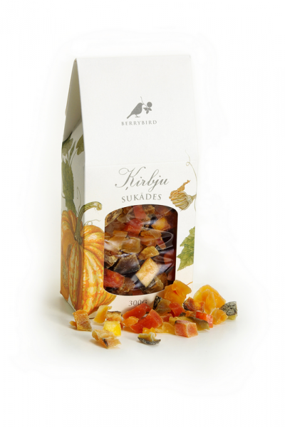 Pumpkin candied fruits (300g)