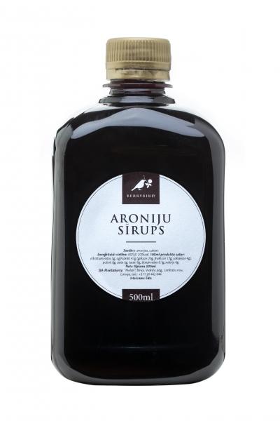Aroniju sīrups (500ml)